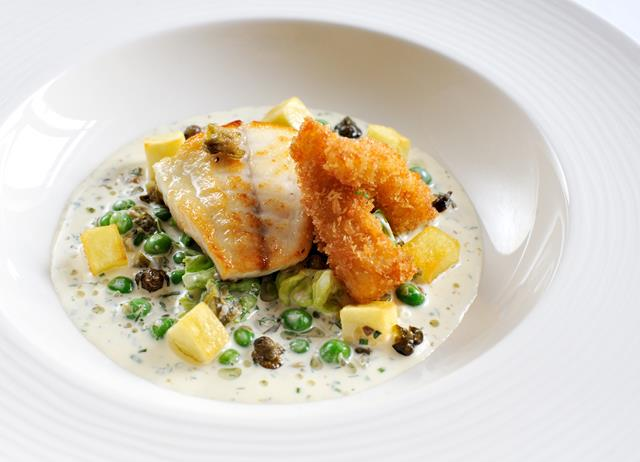 Turbot with tartare sauce 'my way'