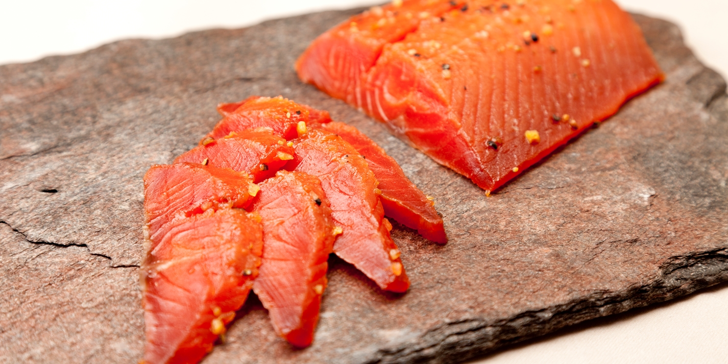 maplecured salmon recipe great british chefs