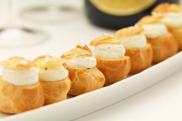Pics for choux pastry fillings for Canape fillings