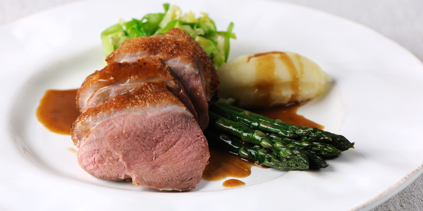 Baked duck breasts recipe
