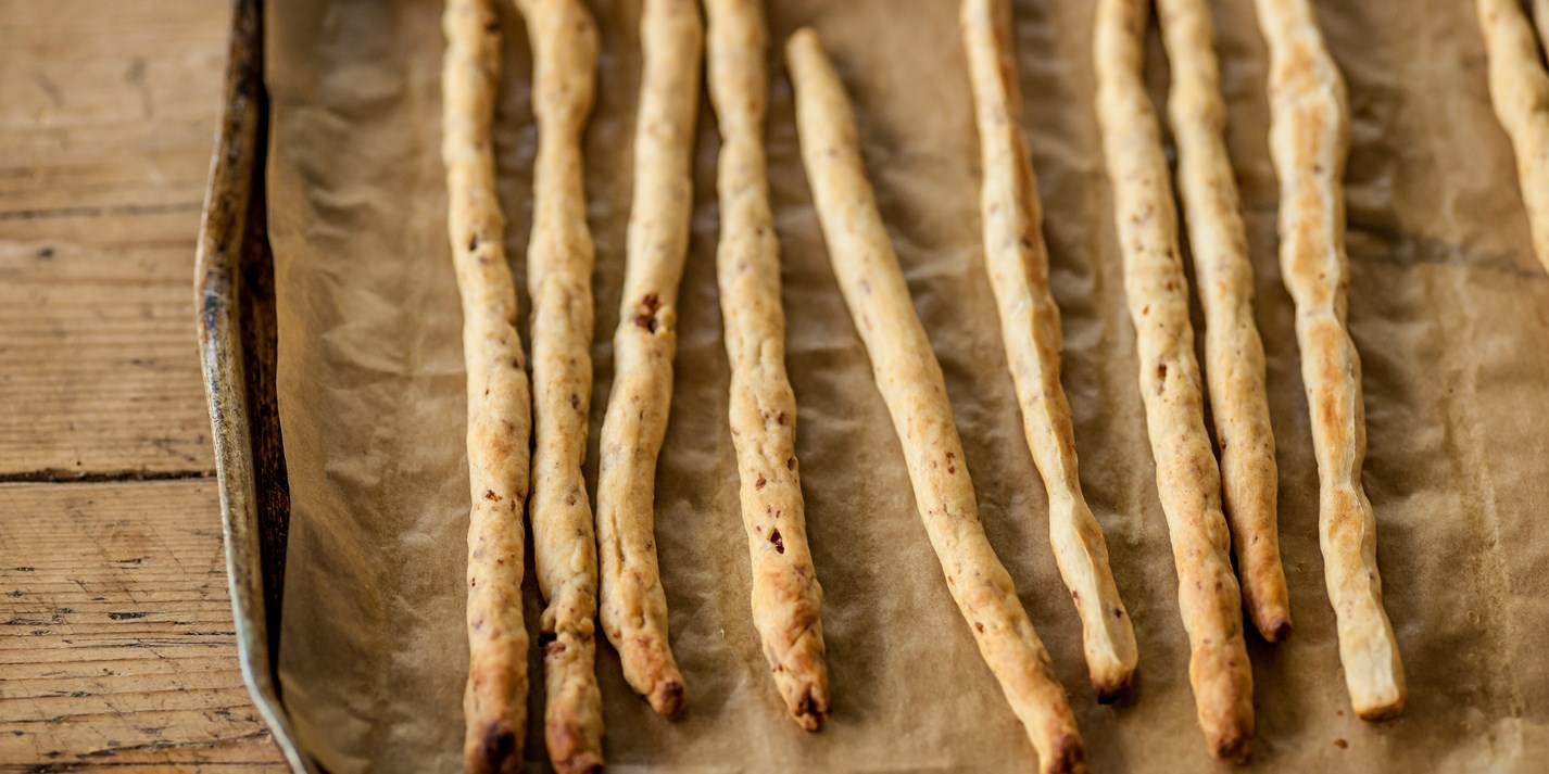 Bacon breadsticks