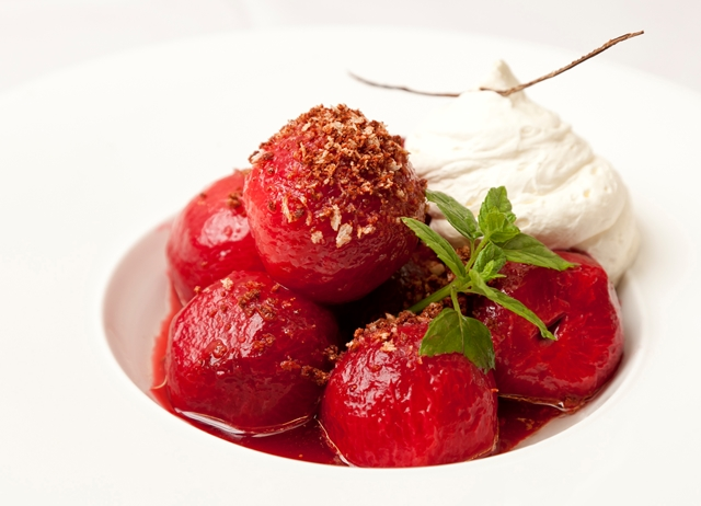 Spiced Plums Recipe - Great British Chefs