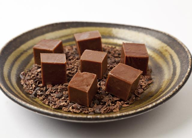 Chocolate and cumin fudge