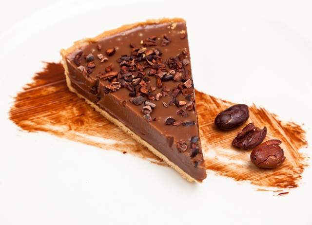 Sea-Salted Caramel and Chocolate Tart Recipe - Great British Chefs