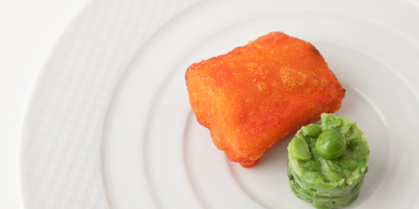 Amritsari cod fillet recipe with pea chutney great for Cod fish fillet recipes