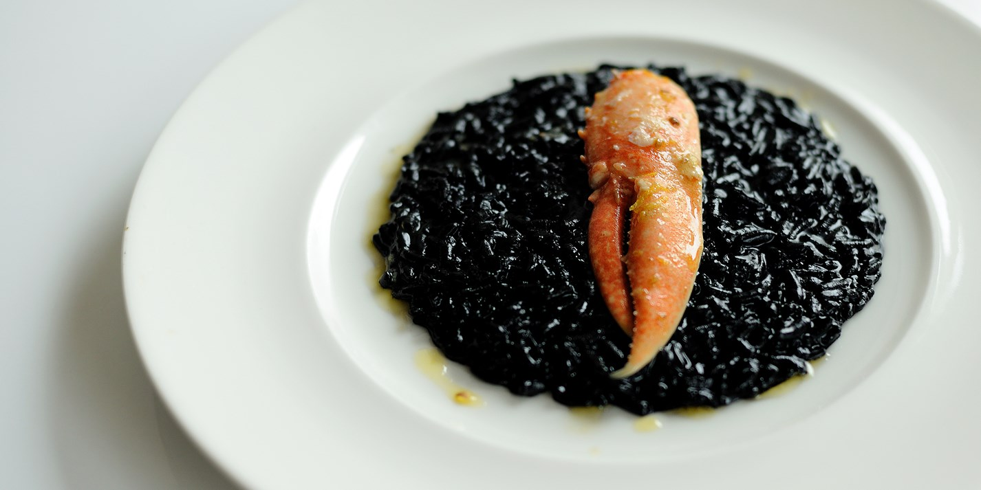 how to say squid ink pasta in italian