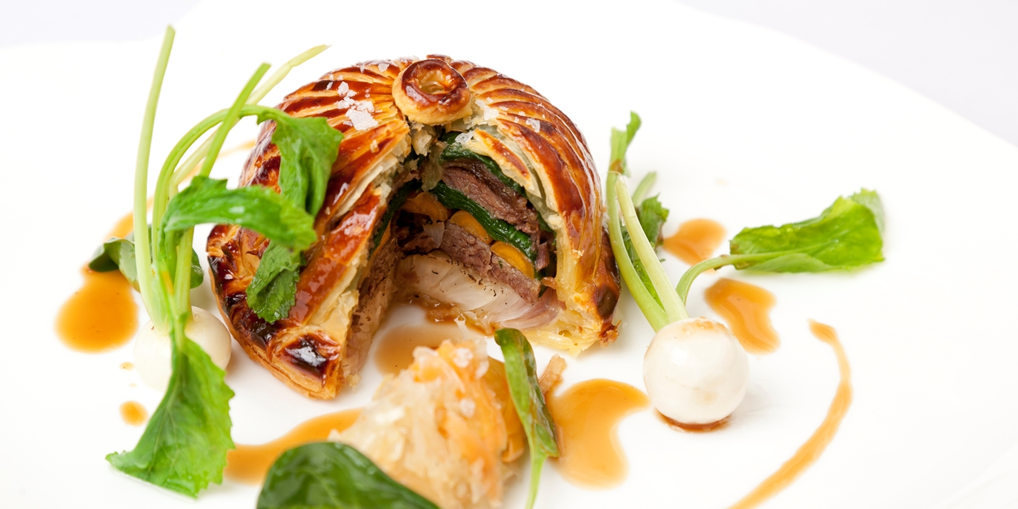 Ox cheek pithivier