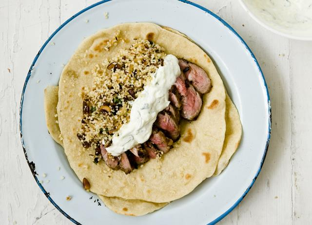 Turkish lamb flatbreads recipe