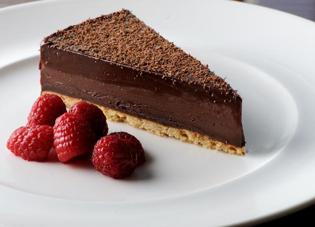Chocolate Tart by Dominic Chapman