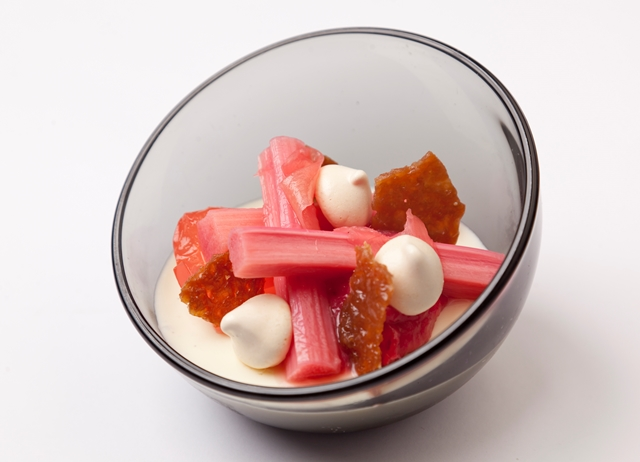 How to cook rhubarb sous vide