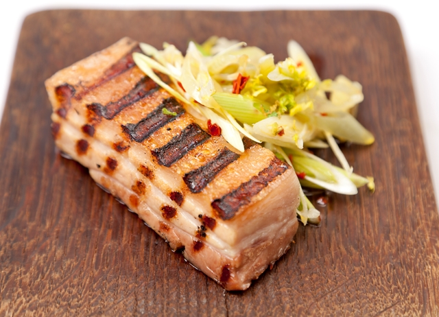 How to barbecue pork belly