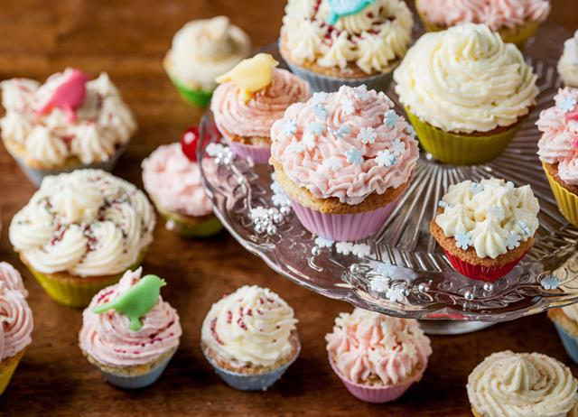 Party fairy cakes