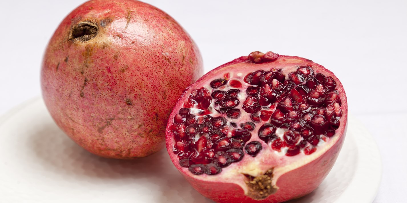 how to draw pomegranate fruit