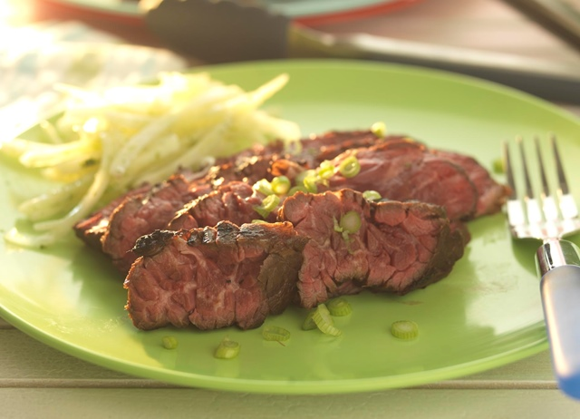 Lime-Marinated Flank Steak Recipe - Great British Chefs