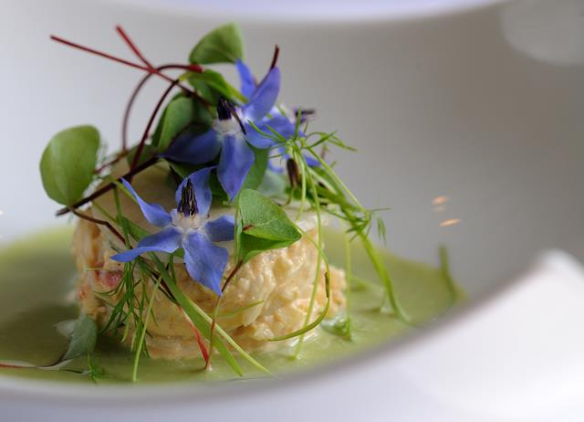 Cucumber Gazpacho Recipe With Crab Salad - Great British Chefs