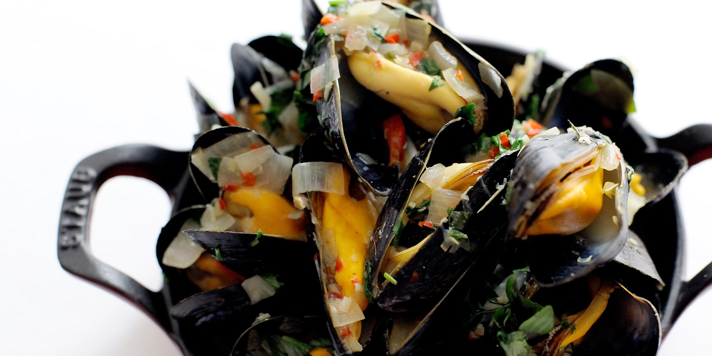 Mussel broth
