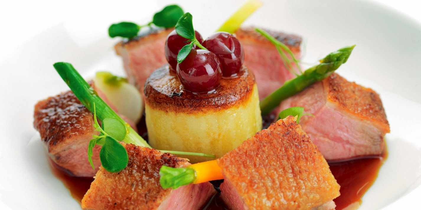 how to cook duck breast masterchef