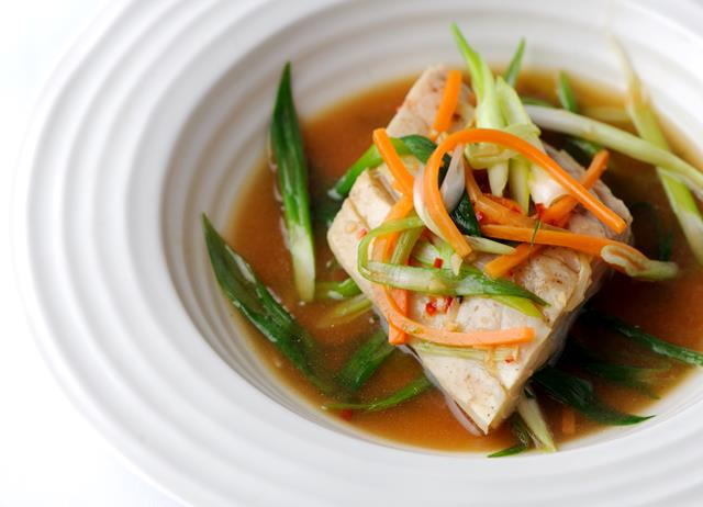 Sea bass with Chinese spice