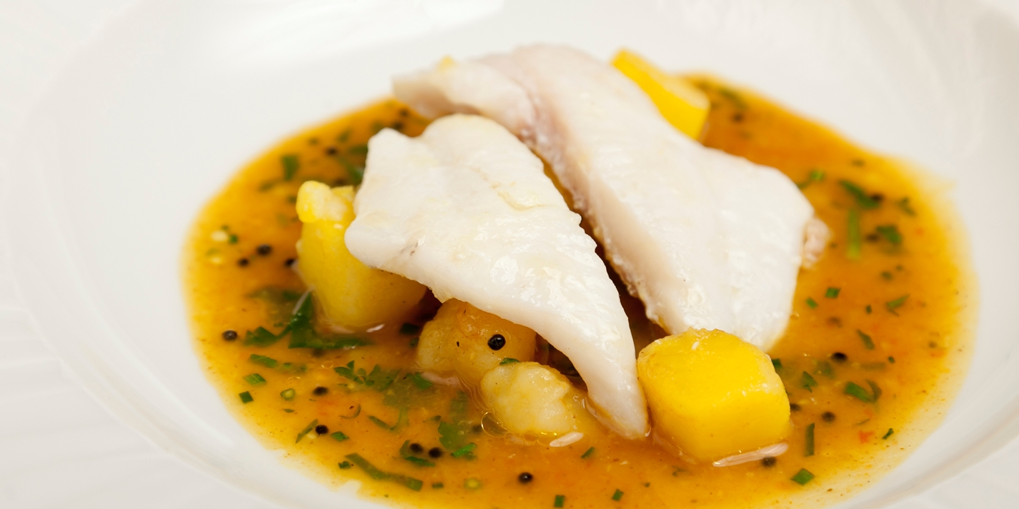 John dory potato rasam recipe great british chefs for John dory recipe
