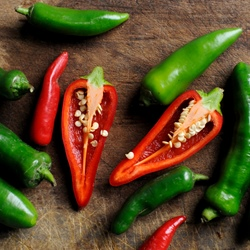How to de-seed a chilli