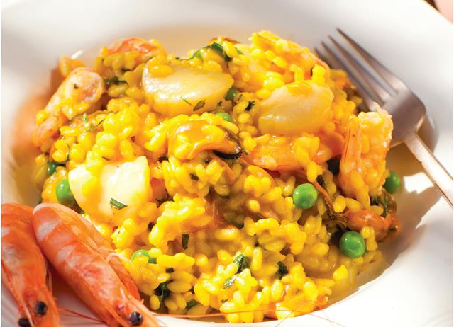 Seafood Risotto Recipe - Great British Chefs