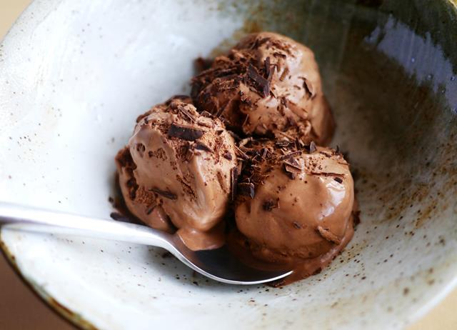 Spiced Belgian chocolate ice cream - Great British Chefs