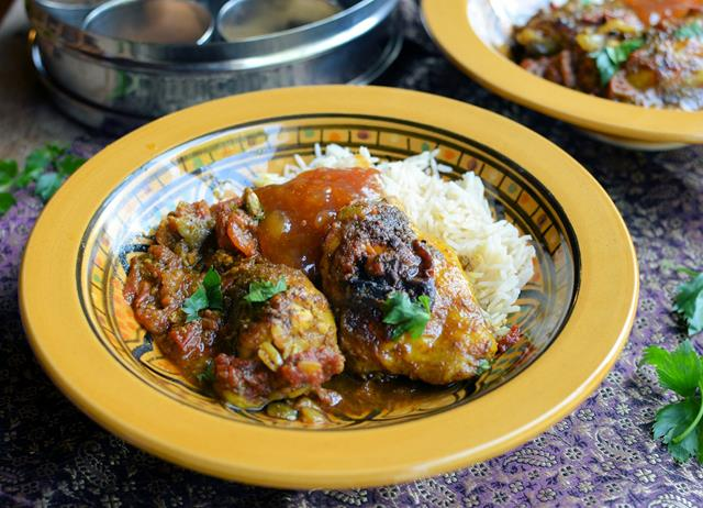 Ghurkha chicken cardamom curry