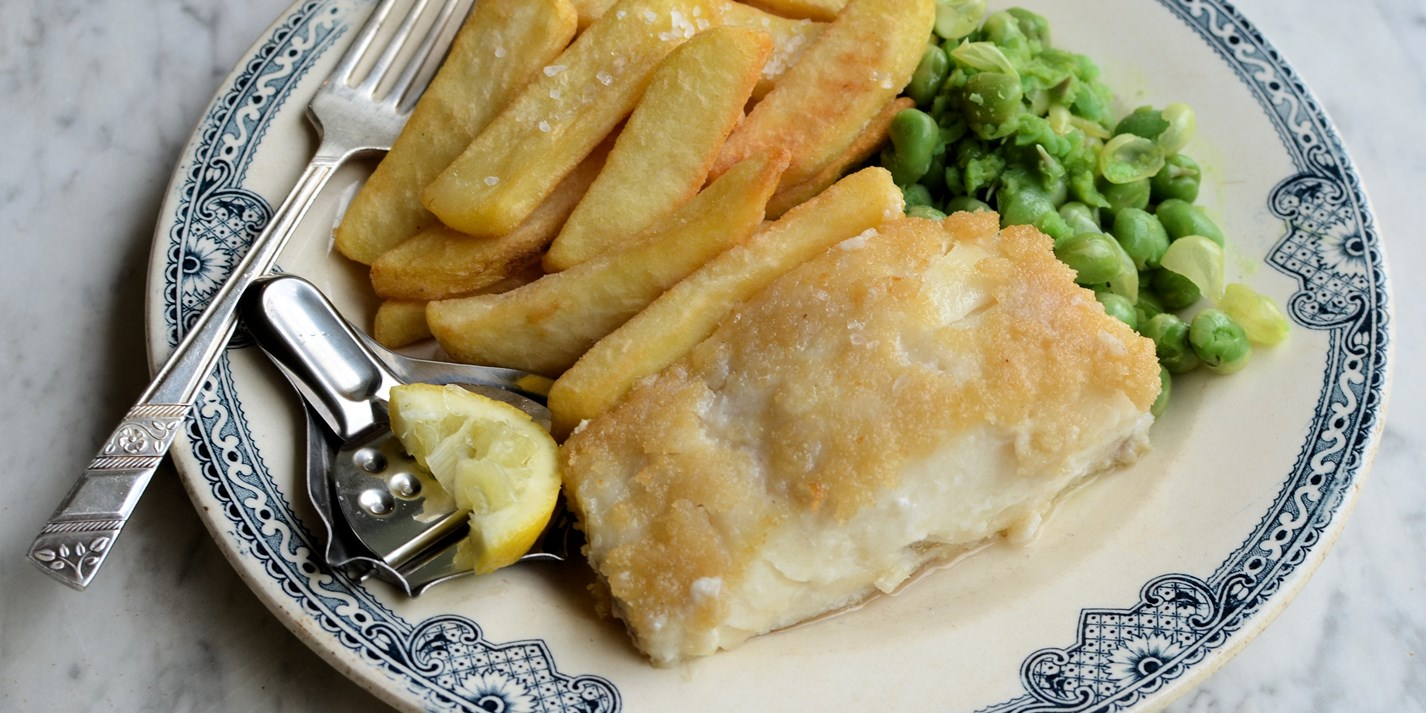 Gluten free fish and chips recipe great british chefs for British fish and chips recipe