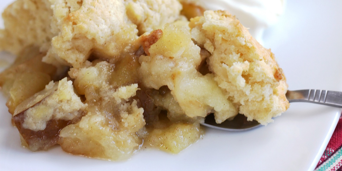 Pear and Apple Cobbler Recipe - Great British Chefs
