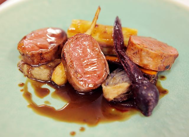 How to cook loin of lamb