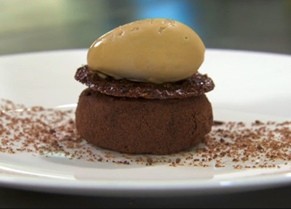 Marcus Wareing chocolate dessert
