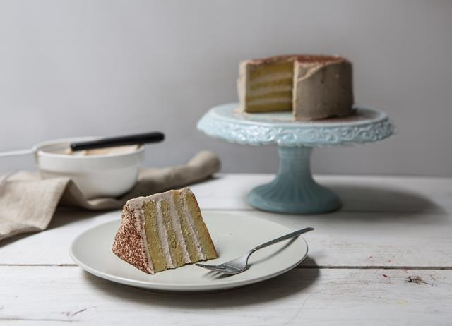 Gluten-free chestnut and vanilla cake recipe