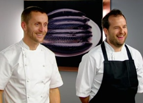 Chefs Alan Murchison and Colin Buchan