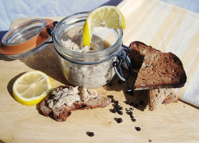 Mackerel pâté