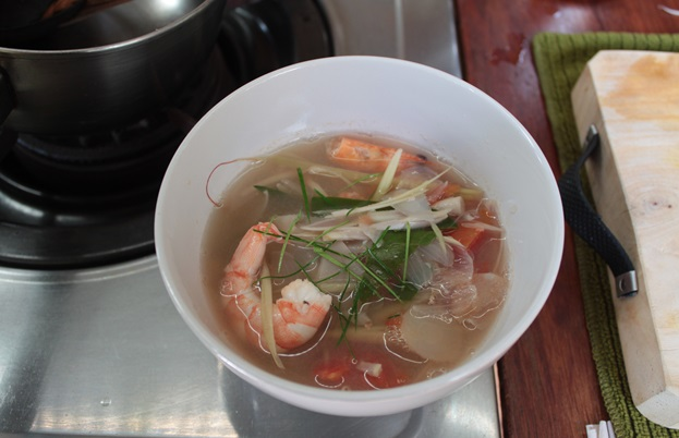 Thai instant food: Tom Yam