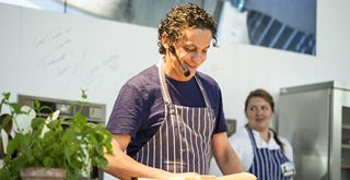Francesco Mazzei on the AEG Theatre at Taste of London