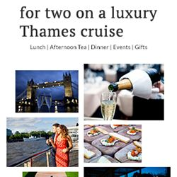 Win a dinner-for-two on a luxury Thames cruise with Bateaux London