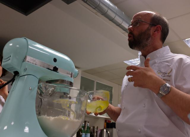 Russell Brown at Great British Chefs Cook School