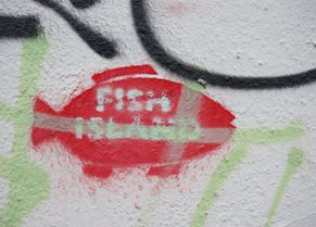 Fish Island graffiti