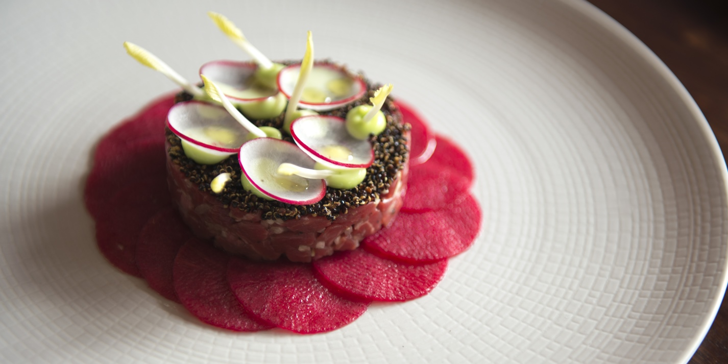 Beef Tartare Recipe With Pickled Radish And Wasabi Great