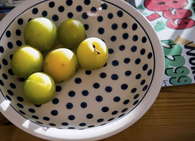 How to make greengage crumble