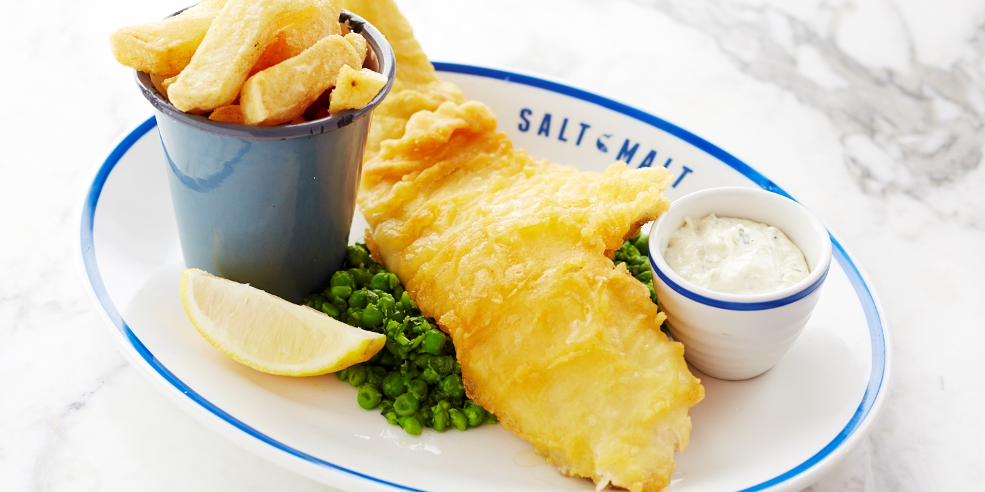Beer battered fish and chips recipe great british chefs for Best beer battered fish