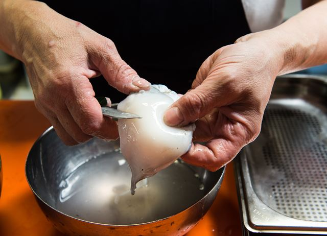 How to cook cuttlefish sous vide