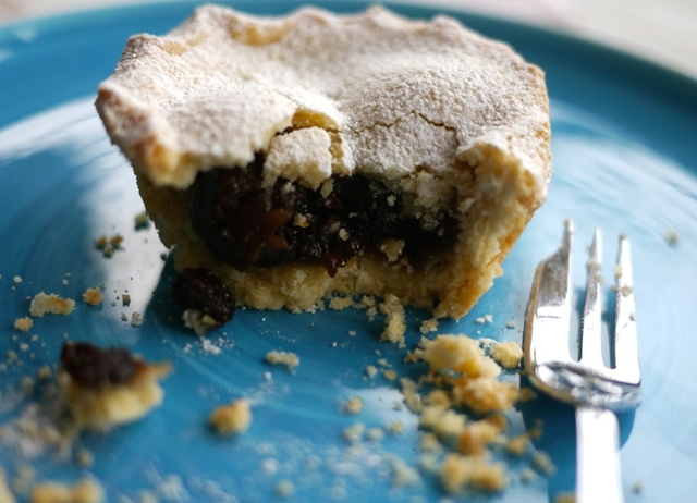 Gluten Free Mince Pies with Damson and Cobnut