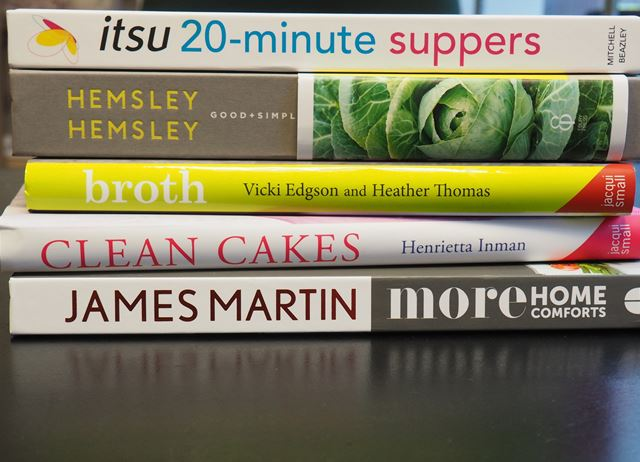 Cookbook new releases: February