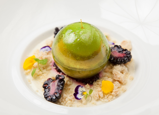 Molecular Apple Dessert Recipe