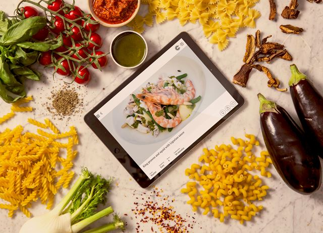 Take a look at our Great Italian Chefs app
