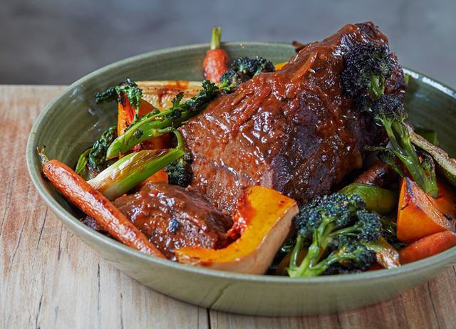 Braised Feather Blade Beef