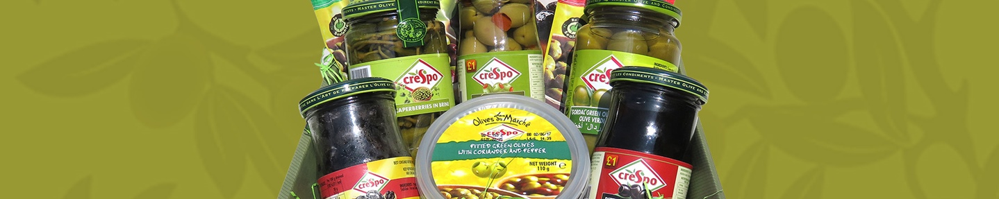 Win a luxury Crespo olives hamper worth £50