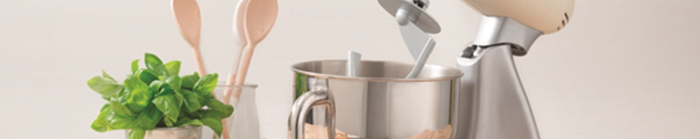 Win a Smeg stand mixer with pasta roller and cutter set worth over £460
